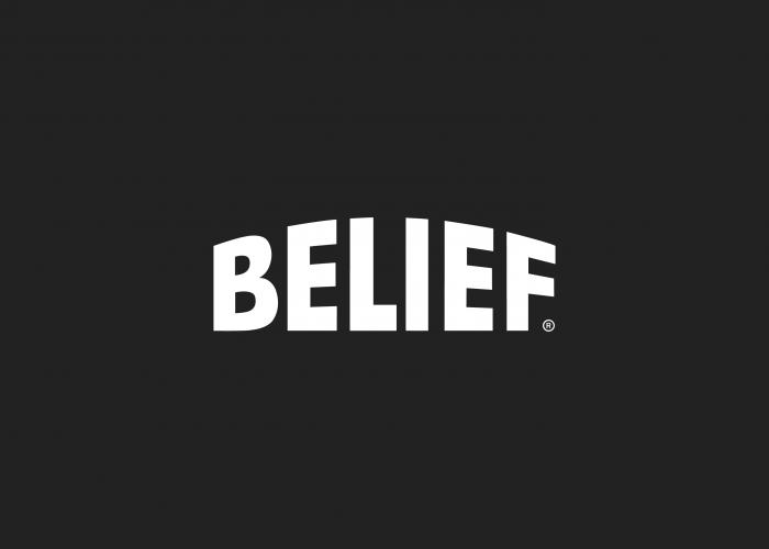 Belief NYC logo design by Ryan Paonessa