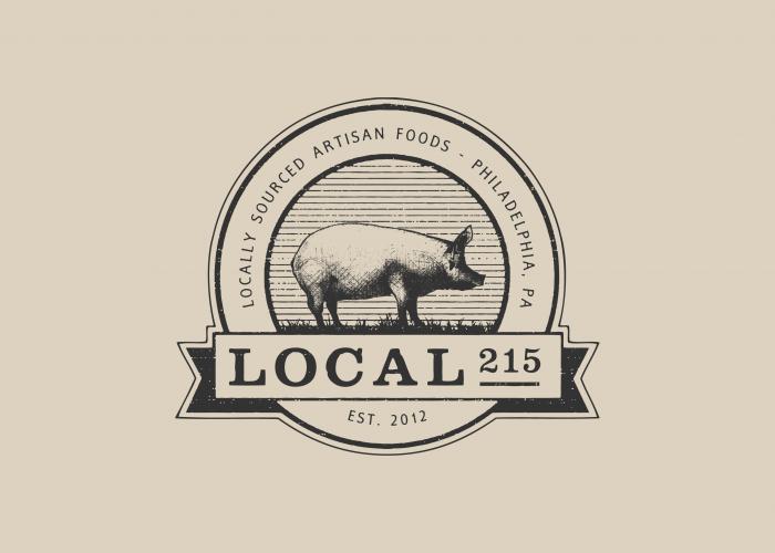 Local 215 logo design by Ryan Paonessa